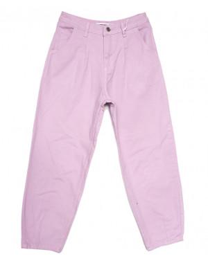 3437 сиреневые Xray джинсы-баллон весенние коттоновые (26-31, 6 ед.)