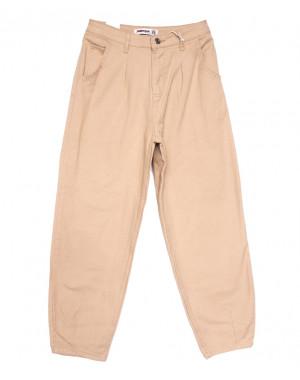 3437 бежевые Xray джинсы-баллон весенние коттоновые (26-31, 6 ед.)