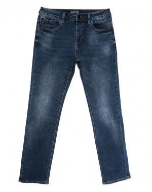 03777 (03-777) Reigouse джинсы мужские полубатальные синие осенние стрейчевые (32-38, 8 ед.)
