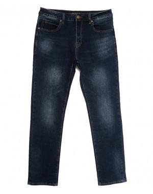 07777 (07-777) Reigouse джинсы мужские полубатальные синие осенние стрейчевые (32-42, 8 ед.)