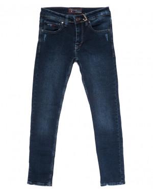 7232 Fashion Red джинсы мужские с царапками синие осенние стрейчевые (29-36, 8 ед.)