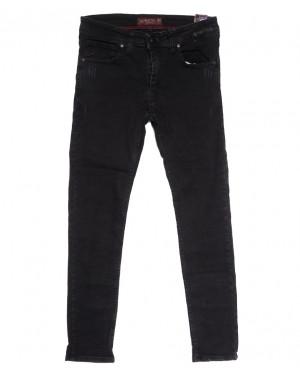 7199 Blue Nil джинсы мужские с царапками серые осенние стрейчевые (29-36, 8 ед.)