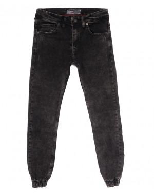7247 Fashion Red джинсы мужские на резинке с царапками серые осенние стрейчевые (29-36, 8 ед.)
