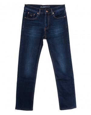 66045 Pr.Minos джинсы мужские на флисе синие зимние стрейчевые (29-38, 8 ед.)
