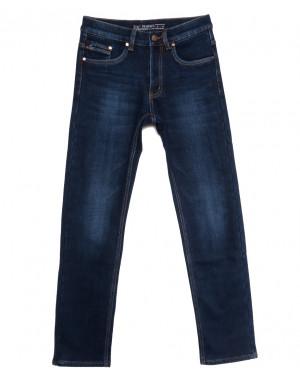 66043 Pr.Minos джинсы мужские на флисе синие зимние стрейчевые (29-38, 8 ед.)