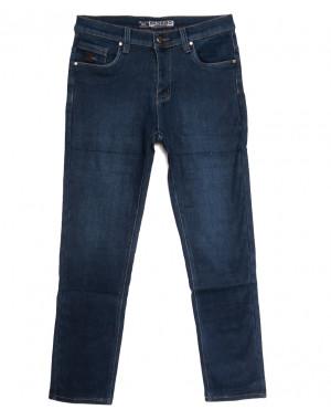 1252 Bagrbo джинсы мужские на флисе синие зимние стрейчевые (29-38, 8 ед.)