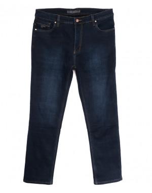 2027 Bagrbo джинсы мужские на флисе синие зимние стрейчевые (29-38, 8 ед.)