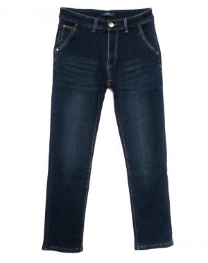 8011 Lavrs джинсы мужские на флисе синие зимние стрейчевые (29-38, 8 ед.)