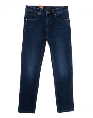 1072 Pаgalee джинсы мужские на флисе синие зимние стрейчевые (31-38, 8 ед.)