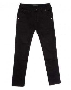 01477 Reigouse джинсы мужские на флисе черные зимние стрейчевые (29-38, 8 ед.)