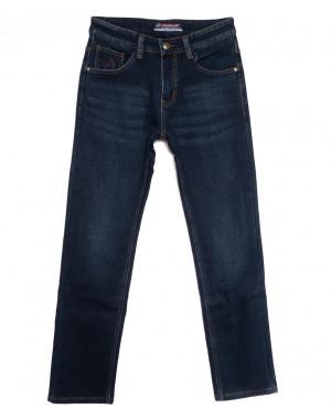 8216 Vouma-Up джинсы мужские на флисе синие зимние стрейчевые (29-38, 8 ед.)