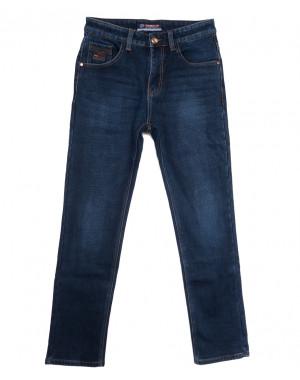8218 Vouma-Up джинсы мужские полубатальные на флисе синие зимние стрейчевые (32-38, 8 ед.)