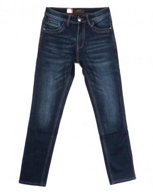 18247 Vouma-Up джинсы мужские на флисе синие зимние стрейчевые (29-36, 8 ед.)