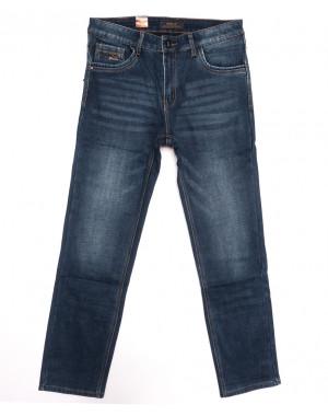 18243 Vouma up джинсы мужские полубатальные на байке синие зимние стрейчевые (32-38, 8 ед.)