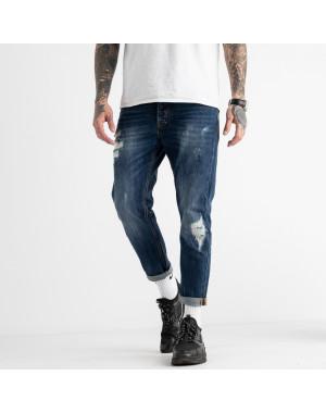 0181-01 мужские джинсы синие котоновые (6 ед. размеры: 30.32.34.34.36.38)