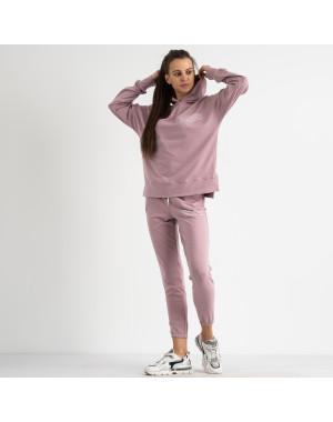 15115-31 Mishely розовый женский спортивный костюм из двунитки (4 ед. размеры: S.M.L.XL)