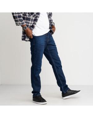2126 Dsouaviet синие джинсы мужские стрейчевые на флисе (8 ед. размеры: 29.30.31.32.33.34.36.38)