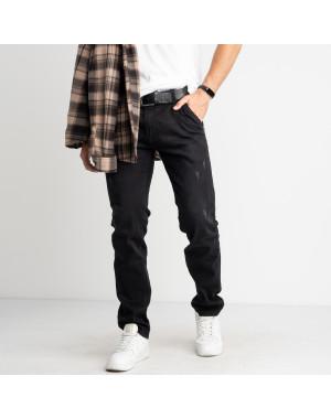 5321 Black Lee джинсы черные мужские стрейчевые (7 ед.размеры: 27.28.29.30.31.32.33)