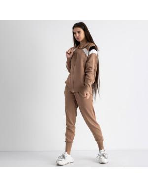 1602-2 M.K.Store мокко спортивный костюм женский (3 ед.размеры: универсал 44-48)
