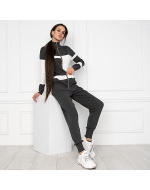 1601-1 M.K.Store темно-серый спортивный костюм женский (3 ед.размеры: универсал 44-48)