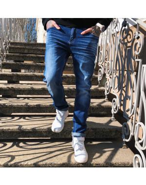 8039 Resalsa джинсы мужские с теркой весенние стрейчевые (29-3,30-2, 5 ед.)