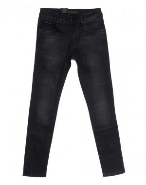 9304 God Baron джинсы мужские молодежные серые осенние стрейчевые (27-33, 8 ед.)