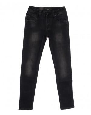 9307 God Baron джинсы мужские молодежные серые осенние стрейчевые (28-34, 8 ед.)