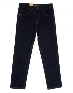 1046 D LS джинсы мужские батальные темно-синие осенние стрейчевые (34-44, 8 ед.)