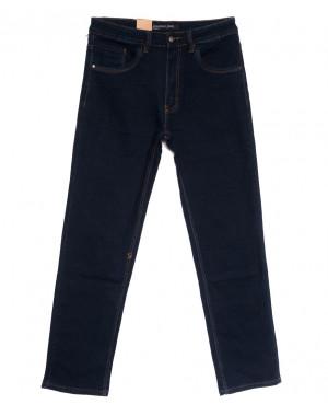 1041 LS джинсы мужские полубатальные темно-синие осенние стрейчевые (32-38, 8 ед.)