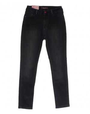0795 темно-серые Redmoon джинсы женские полубатальные осенние коттоновые (29-36, 7 ед.)