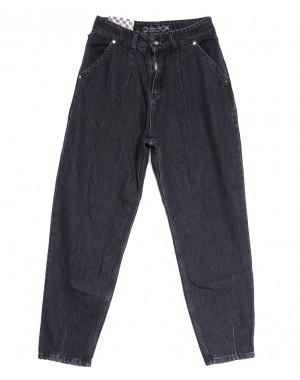 0835 Redmoon джинсы-баллон серые осенние коттоновые (25-30, 6 ед.)