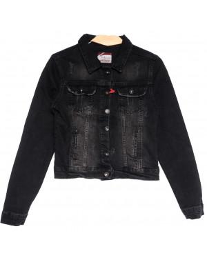 0643 черная Redmoon куртка джинсовая женская c царапками стрейчевая (S-XL, 4 ед.)