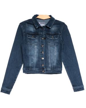 0643 синяя Redmoon куртка джинсовая женская c царапками стрейчевая (S-XL, 4 ед.)
