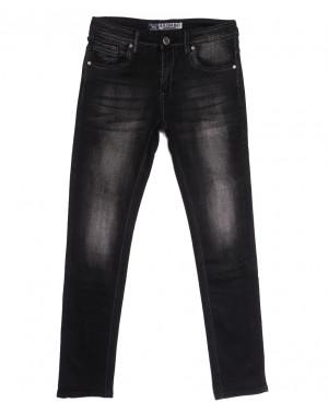 1505 Bagrbo джинсы мужские молодежные серые осенние стрейчевые (27-34, 8 ед.)