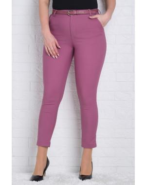 9785-S (GS9785S) Moon girl брюки женские батальные 7/8 фрезовые весенние стрейчевые (31,31,32,33,33,33,34,34,34,34,35,35,35,36,38, 15 ед.)