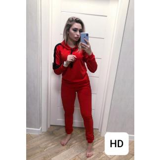 0050 красный женский спортивный костюм (42-50, 5 ед.) Костюм: артикул 1106483