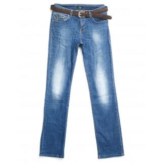 9173-B-535 Colibri (28-33, полубатал 6 ед.) джинсы женские прямые тёрка  Colibri: артикул 1062413