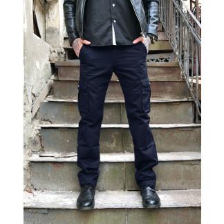 "9079-8 D синие Iteno мужские брюки ""Карманы""  (33-42, 6/12 ед.)  Iteno: артикул 1055723"