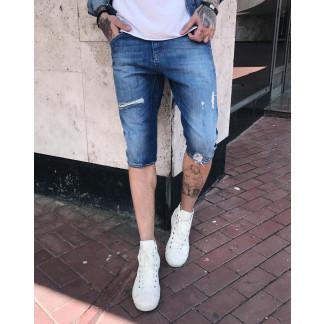 00348 Manzara шорты джинсовые мужские стрейчевые (29,29,30,31,31,32,32,34,34,36, 10 ед.) Manzara: артикул 1088043