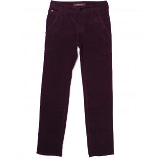 0014-0011 LS бордовые (27-34, молодёжка 8 ед.) брюки мужские весенние не тянутся LS: артикул 1075213