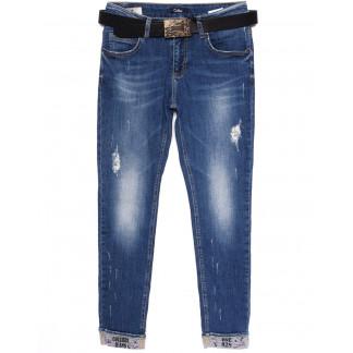9336-В-566 Colibri (28-33, полубатал 6 ед.) джинсы женские весенние стрейчевые Colibri: артикул 1076047