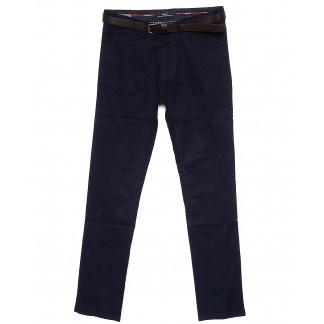 0003-1 синие Pobeda (27-34, молодежка, 8 ед.) брюки мужские осенние стрейчевые Pobeda: артикул 1082714