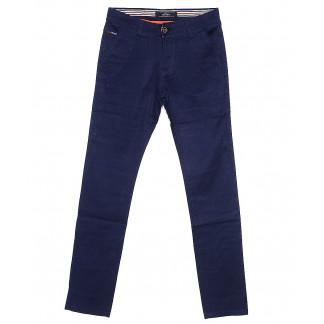 0038-1 Feerars брюки мужские с косым карманом синие весенние стрейчевые (29-38, 8 ед.) Feerars: артикул 1087766
