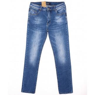 2076 Fang джинсы мужские батальные с теркой весенние стрейчевые (32-40, 8 ед.) Fang: артикул 1087817