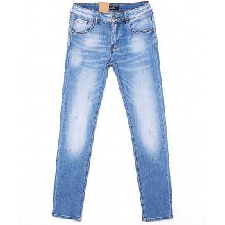 2072 Fang джинсы мужские молодежные с теркой весенние стрейчевые (28-34, 8 ед.) Fang: артикул 1087820