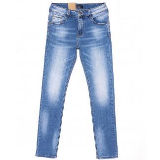 2073 Fang джинсы мужские с теркой весенние стрейчевые (29-36, 8 ед.) Fang: артикул 1087825