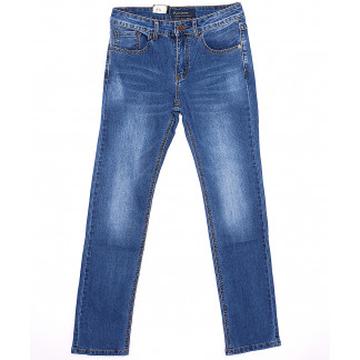 0002 (T002) Top Star джинсы мужские классические весенние стрейчевые (29-38, 8 ед.) Top Star: артикул 1089660