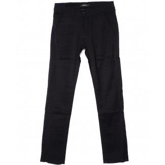 0375-1 Feerars брюки мужские черные весенние стрейчевые (29-38, 8 ед.) Feerars: артикул 1090011