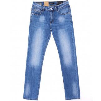 2086 Fang джинсы мужские с теркой весенние стрейч-котон (30-38, 8 ед.) Fang: артикул 1090131