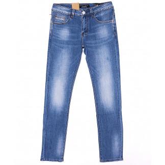 2089 Fang джинсы мужские молодежные с теркой весенние стрейч-котон (28-34, 8 ед.) Fang: артикул 1090133